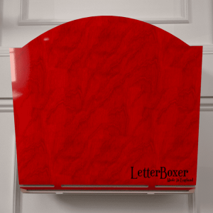 750 letterbox cage RED