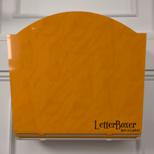 750 letterbox cage YELLOW