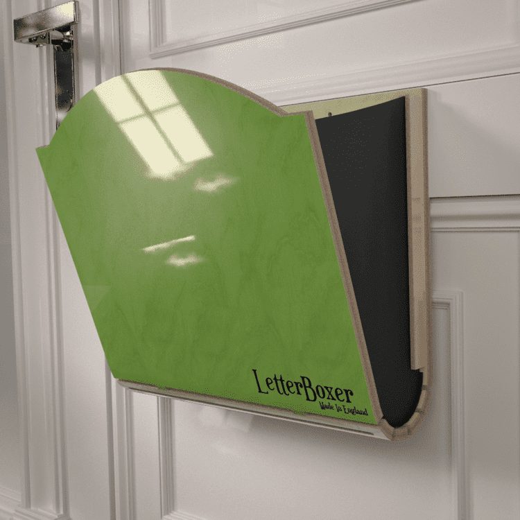 750 letterbox cage Green GREY