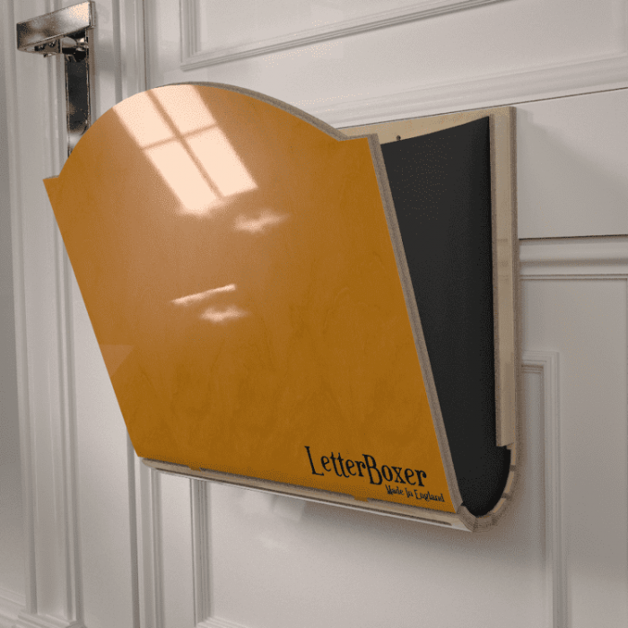 750 letterbox cage Yellow GREY
