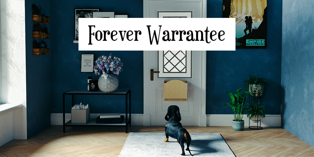 LetterBoxer Forever Warrantee title