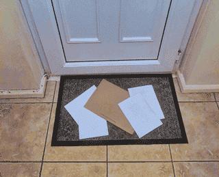 Do you find it difficult to pick up your mail off the floor?
